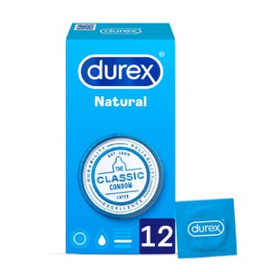 Durex natural plus Easy On 12uds