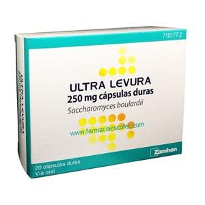 Ultra Levura 250mg 20 cápsulas