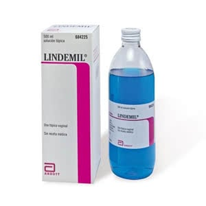Lindemil Sol. vaginal 6 mg/ml + 80 mg/ml 500ml