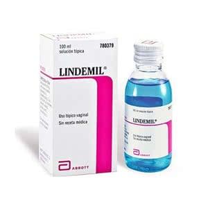 Lindemil Sol. vaginal 6 mg/ml + 80 mg/ml 100ml