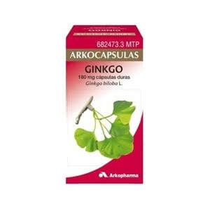 Arkocápsulas Ginkgo 180 mg 100cáps