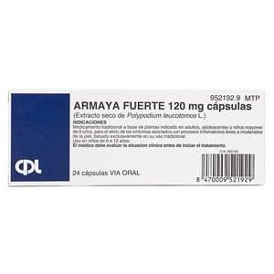 Armaya Fuerte 120 mg 24cáps