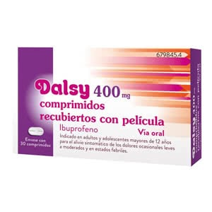 Dalsy 400mg 30compr