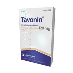 Tavonin 120mg 30comp