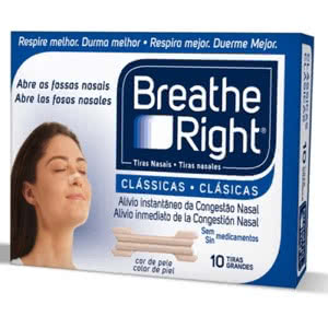 Breathe Right tira nasal pequeña 10uds