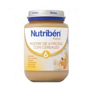 Nutriben Junior frutas con cereales 200gr