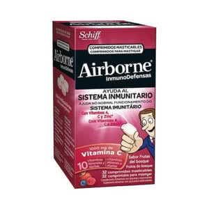 Airbone frutos del bosque 32comp masticables