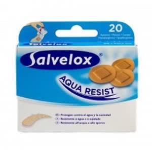 Salvelox apósitos redondo Aqua Resist 20uds
