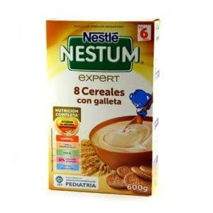 Nestlé Nestum 8 cereales con galletas 600gr