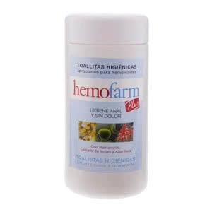 Hemofarm Plus toallitas 60uds