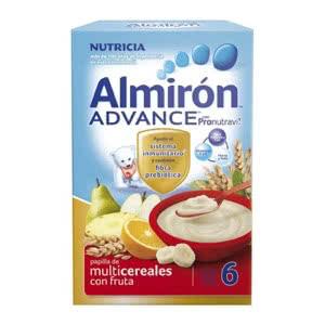 Almirón Advance multicereal frutas 500gr