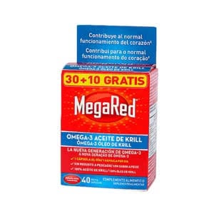 Megared 500 Omega 3 aceite krill 30 10cáps