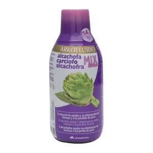 Arkofluido alcachofa mix detox 280ml