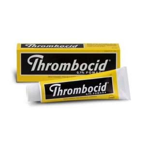 Thrombocid 1mg/gr pomada 100 tubos de 60gr