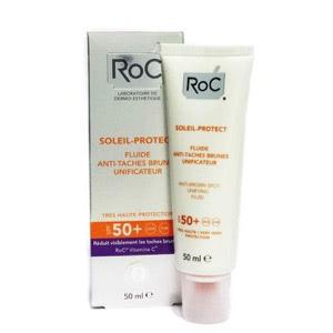 Roc Soleil Protect fluido unificante anti-manchas SPF50+ 50ml