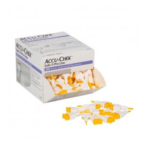 Accu chek Safe t pro uno 200 lancetas