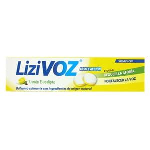 Lizivoz limón y eucalipto 18 pastillas