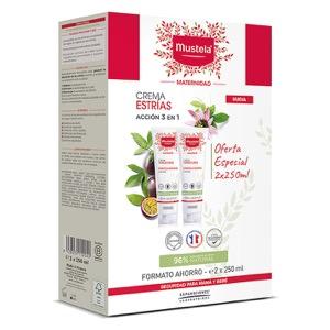 Mustela crema prevención de estrías 250ml
