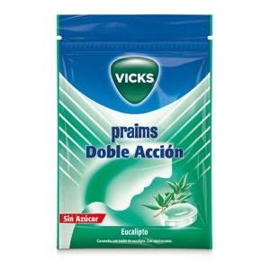 Praims caramelos doble acción 1 bolsa s/a