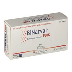 BiNarval Plus 760mg 60cáps