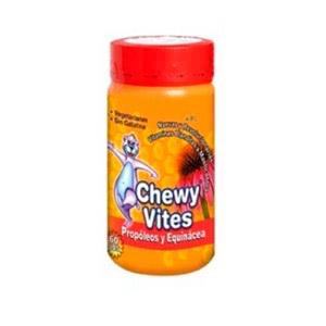 Chewy Vites propóleo y equinácea 60 ositos