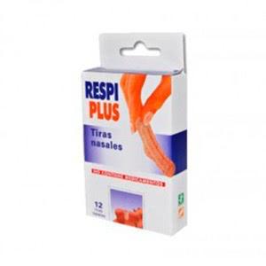 Respiplus tira ADH nasal Talla única 12uds