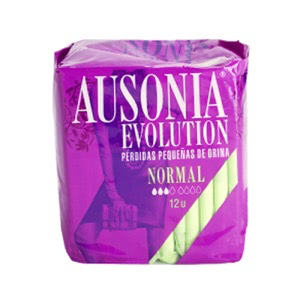 Ausonia Evolution compresa normal 12uds