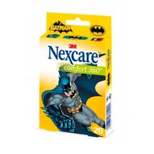Nexcare® Comfort tiras infantiles Batman 27x57mm 20uds