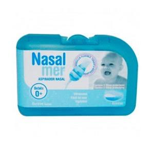 Nasalmer® aspirador nasal + 3 boquillas de recambio
