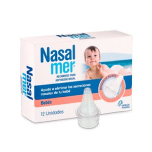 Nasalmer® recambios aspirador nasal 12uds