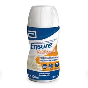 Ensure Nutrivigor sabor vainilla 4 botellas x 220ml