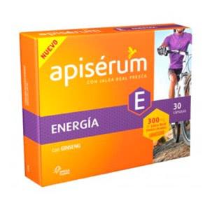 Apiserum Energia Ginseng 30comp