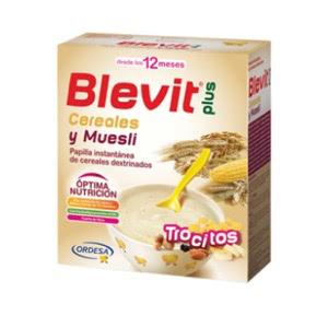 Blevit Plus Trocitos cereales y muesli 600gr