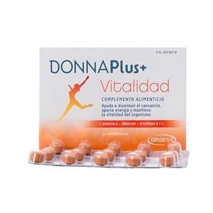 Donna plus+ vitalidad 30comp