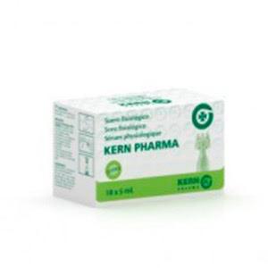 Kern Pharma suero fisiológico estéril monodosis 5ml X 18uds
