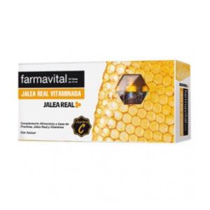 Farmavital jalea real vitaminada 20 viales