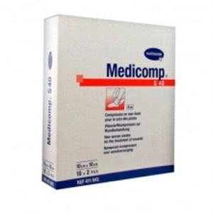 Medicomp compresas apósito estéril 10x10cm 10 sobres 2uds