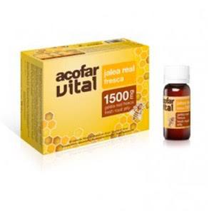 Acofarvital jalea real vitaminada 20 viales