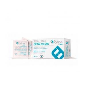 Farline toallitas oftálmicas con ácido hialurónico 30uds