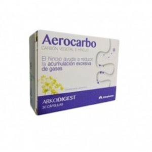 Arkodigest aerocarbo 30cáps