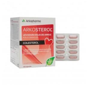 Arkosterol levadura de arroz rojo 120cáps