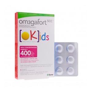 Om3gafort Kids 30 gominolas