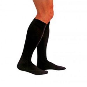 Medilast calcetín marrón compresión normal T-L 1par