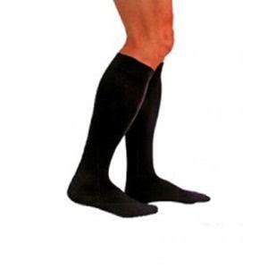 Medilast calcetín Silver Edition compresión normal negro T-L