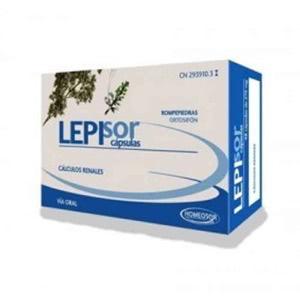 Homeosor Lepisor 275mg 60cáps
