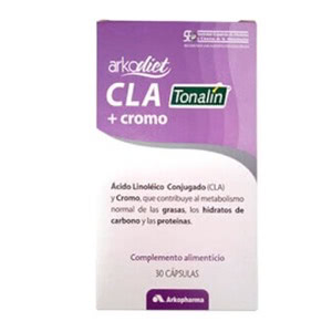 Arkodiet CLA Tonalin+cromo 30cáps