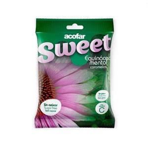 Acofarsweet Caramelos Azucar Equinacea Mentol Bolsa 60 G
