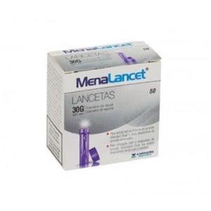 Glucoject Menalancet lancetas 50uds