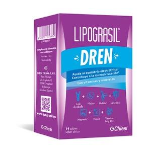 Lipograsil Drenante 14 sobres sabor cítrico