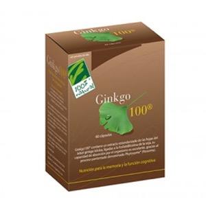 100% Natural Ginkgo 60cáps